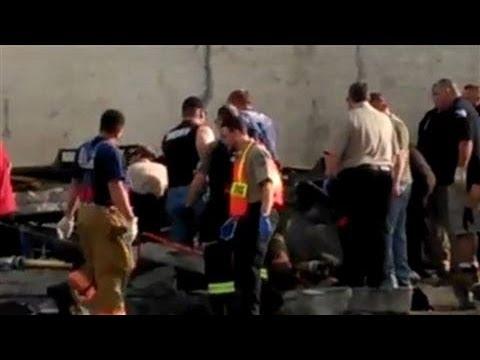 Raw Video: Tornados Rip Through Central U.S.