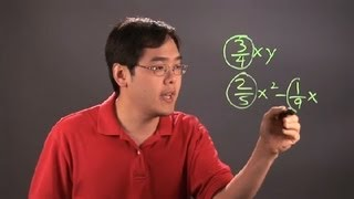 What Is the Coefficient of a Fractional Number? : Fractions 101
