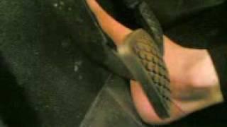 Mistress Pedal Sadistic Drive Car-slave.3gp