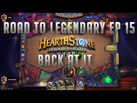 $20 Giveaway! (Read description) Hearthstone Road to legendary EP15