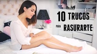 Trucos para afeitarse las piernas