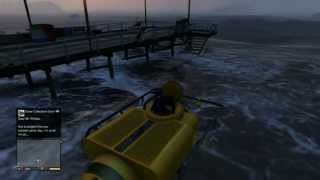 GTA V: How To Get The SCUBA GEAR And SUBMARINE! (DETAILED