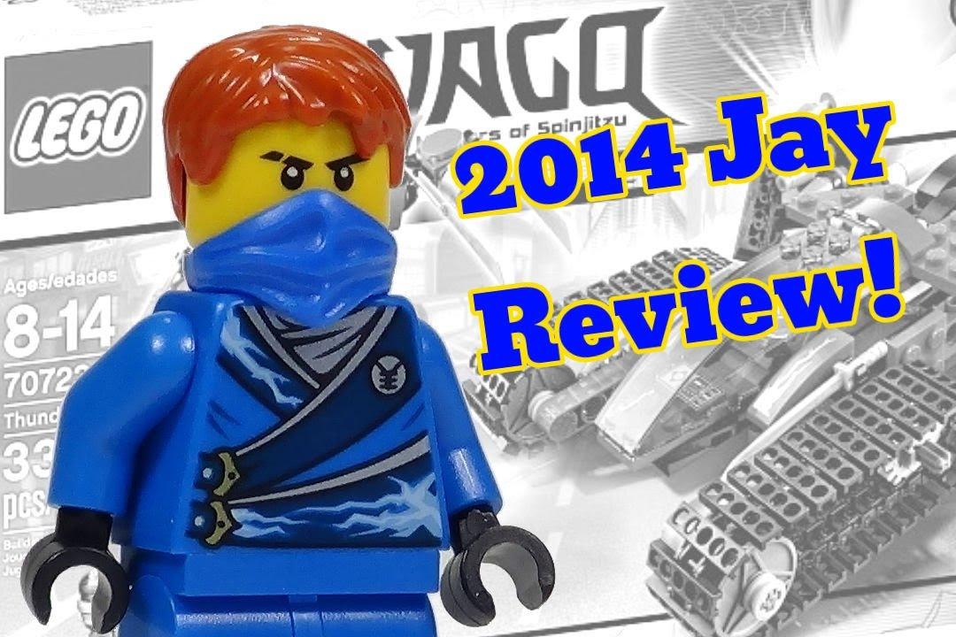 2014 lego ninjago minifigure jay review from 70723 thunder