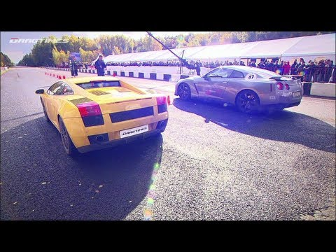 Chevrolet Corvette ZR1 LPE vs Lamborghini Gallardo Twin Turbo UGR vs Nissan GT-R Switzer R850