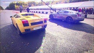 Chevrolet Corvette ZR1 LPE Vs Lamborghini Gallardo Twin