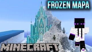 Minecraft 1.8/1.7.10/1.7.2 Mapa De Aventura Frozen Elsa