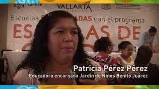 Entrega apoyos a planteles educativos de Puerto Vallarta