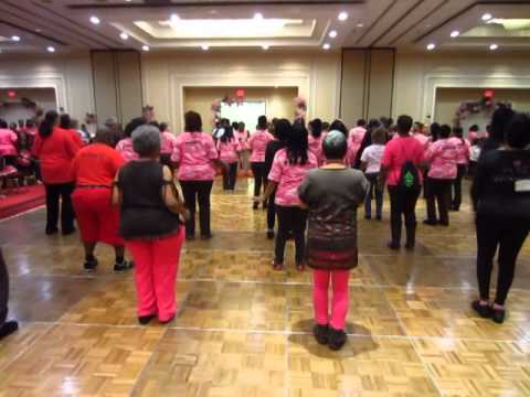 Jamaica Me Crazy Soul Line Dance | UC Star Awards Meet and Greet Party 2014 in Baltimore 1/24/2014