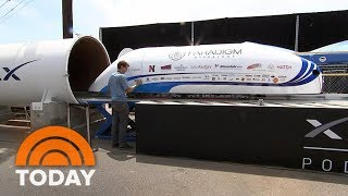 Elon Musk's SpaceX Hyperloop Competition Draws World's Top Engineers | TODAY