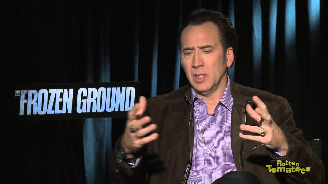 Nicolas Cage Puts Emotion Into His Hair Follicles