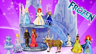 New FROZEN Musical Ice Castle Toy Playset Elsa Sings Let