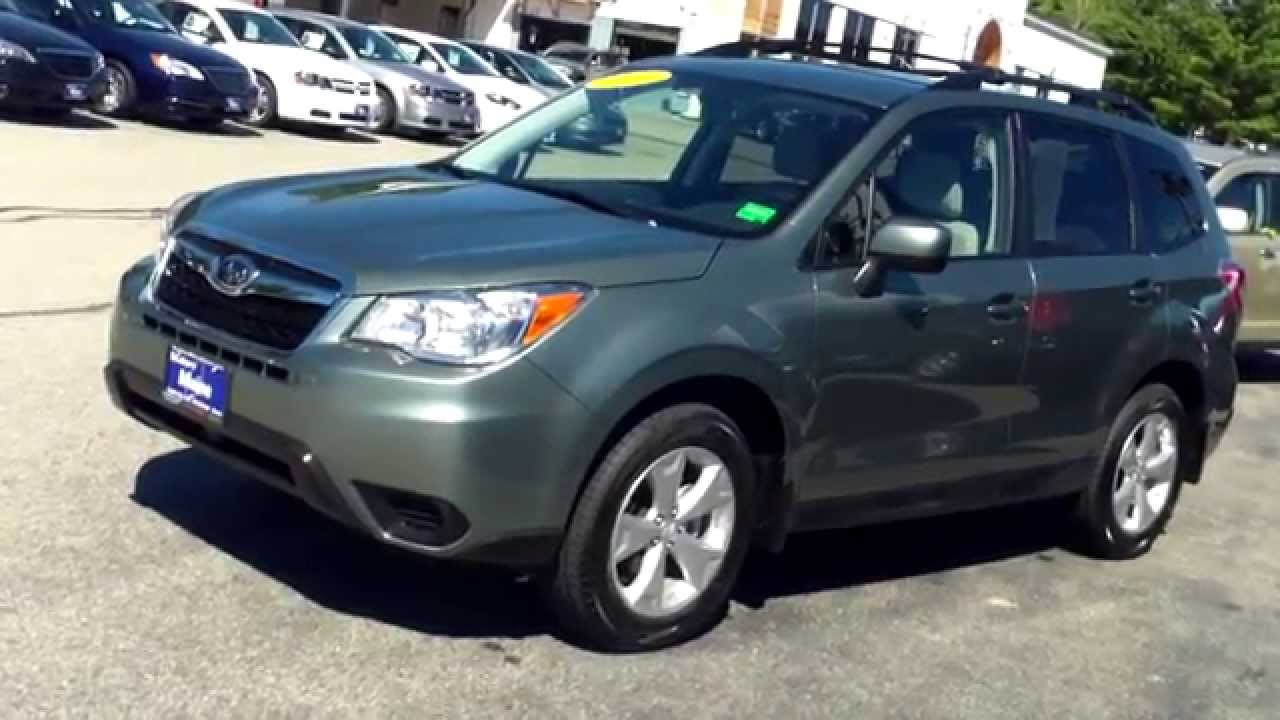 Best priced used 2014 subaru forester j7693a southern for Southern maine motors service