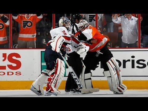 Tempers flare between Flyers, Capitals