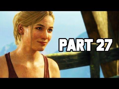 GIANT CAR ELEVATOR!! Uncharted 4 Gameplay Walkthrough Part 27 - Chapter 17 (PS4 1080p HD)