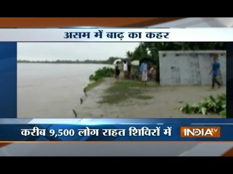 4 districts of Assam devastated by floods
