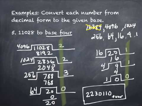 4.4 Conversion Between Number Bases A (part 2)