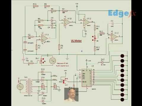 VU Meter Circuit Diagram