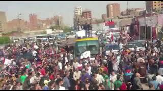 """""""تظاهرة حب"""" في الشرابية من الشباب المشارك"""