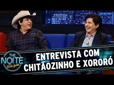 The Noite (09/04/15) - Entrevista com Chitãozinho e Xororó