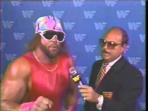 Macho Man Randy Savage Interview (07-05-1987)