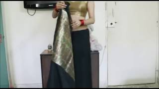 How To Tie An Indian Saree:Step By Step Easy Sari Wearing
