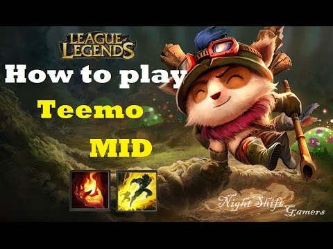 How to play Teemo Mid Season 4