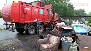 Парламент Приморья снизил стоимость вывоза мусора для частного сектора