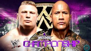 2014: WWE Wrestlemania 30 Brock Lesnar VS The Rock WWE