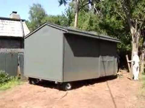 Storage Shed On Wheels