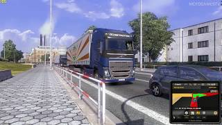 Euro Truck Simulator 2 Volvo FH16 Gameplay