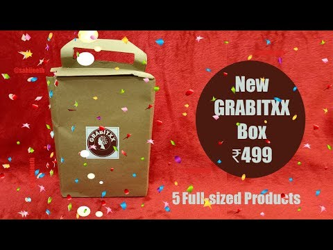 *New GRABITXX BOX | First on YouTube | 5 Full-sized Products | Affordable | Unboxing & Review