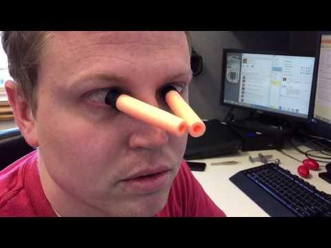 Nerf gun to the eye(Original)