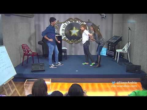 عبد السلام يضرب كنزة صف المسرح مع بيتي توتل – ستار اكاديمي 10 – Abdel Salam Kenza – Star Academy 10