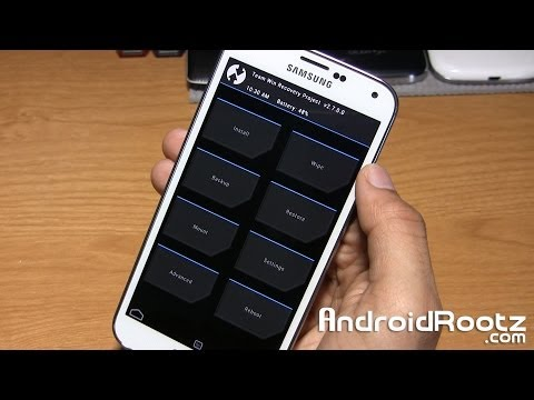 How to Install TWRP Recovery on Rooted Galaxy S5!