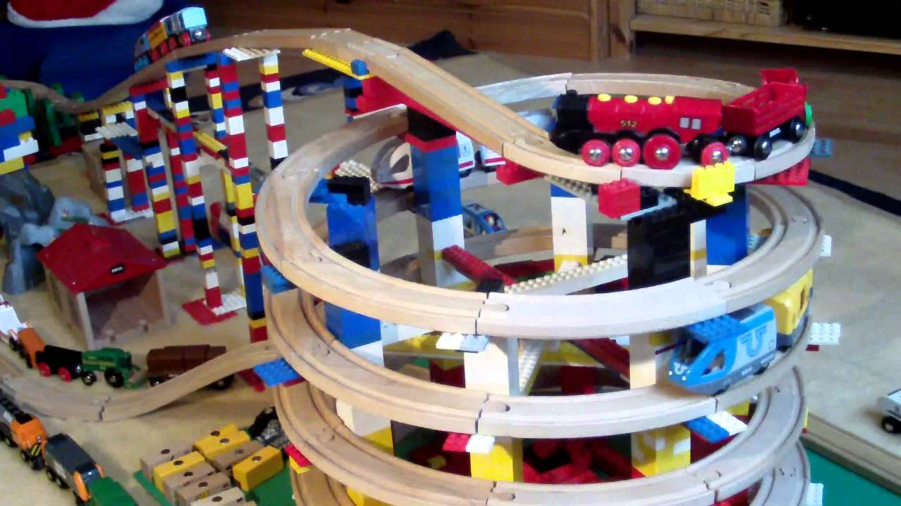 duplo train track instructions