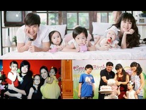 tin tuc sao viet_3 gia đình nghệ sĩ đông con nhất showbiz Việt