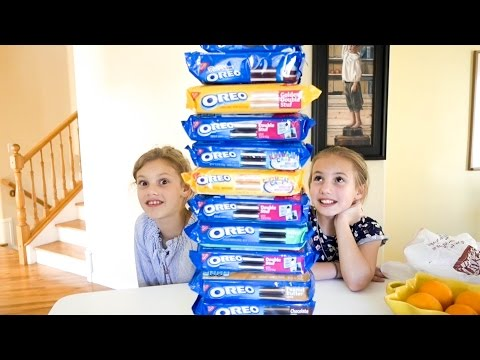 We Are Going To Be SICK😝 OREO CHALLENGE!