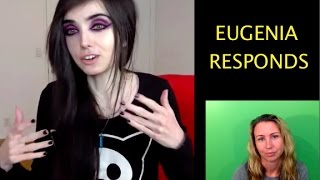 Eugenia responds to my offer! My reaction