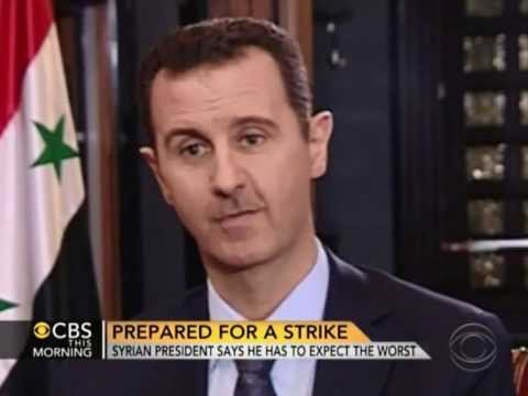 CBS News' Charlie Rose Interviews Bashar al-Assad