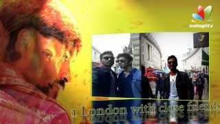 Dhanush Celebrated his 30th Birthday with Anirudh and Sivakarthikeyan in London , Mariyaan