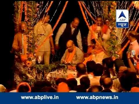 Narendra Modi during Ganga Aarti in Varanasi