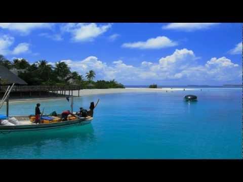 Bluenote Maldives 2 hours【HD】/Nature sound/Music of sea