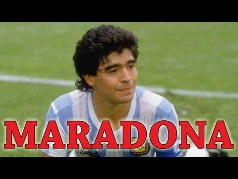 Diego Armando Maradona - Greatest Soccer Player of All ...