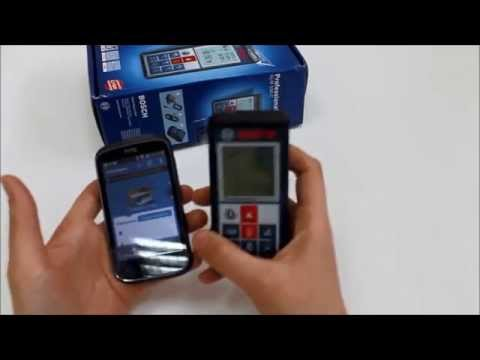 Обзор приложения GLM measure&document для дальномера Bosch GLM 100 C