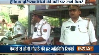Agra: Traffic police go hi-tech & introduce body-worn cameras