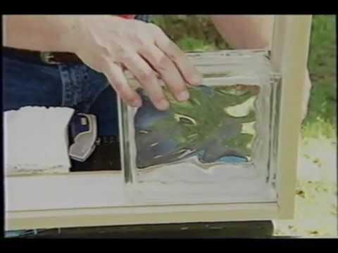Budowa ścianki z puskaka szklanego