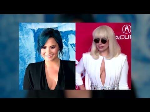 Demi Lovato parle de la performance de Lady Gaga qui s'est fait vomir dessus au nom de l'art