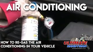 Vehicle air conditioning re-charge | EZ Chill