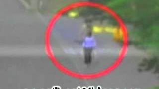 Woman walked through a ghost in Japan - LOL