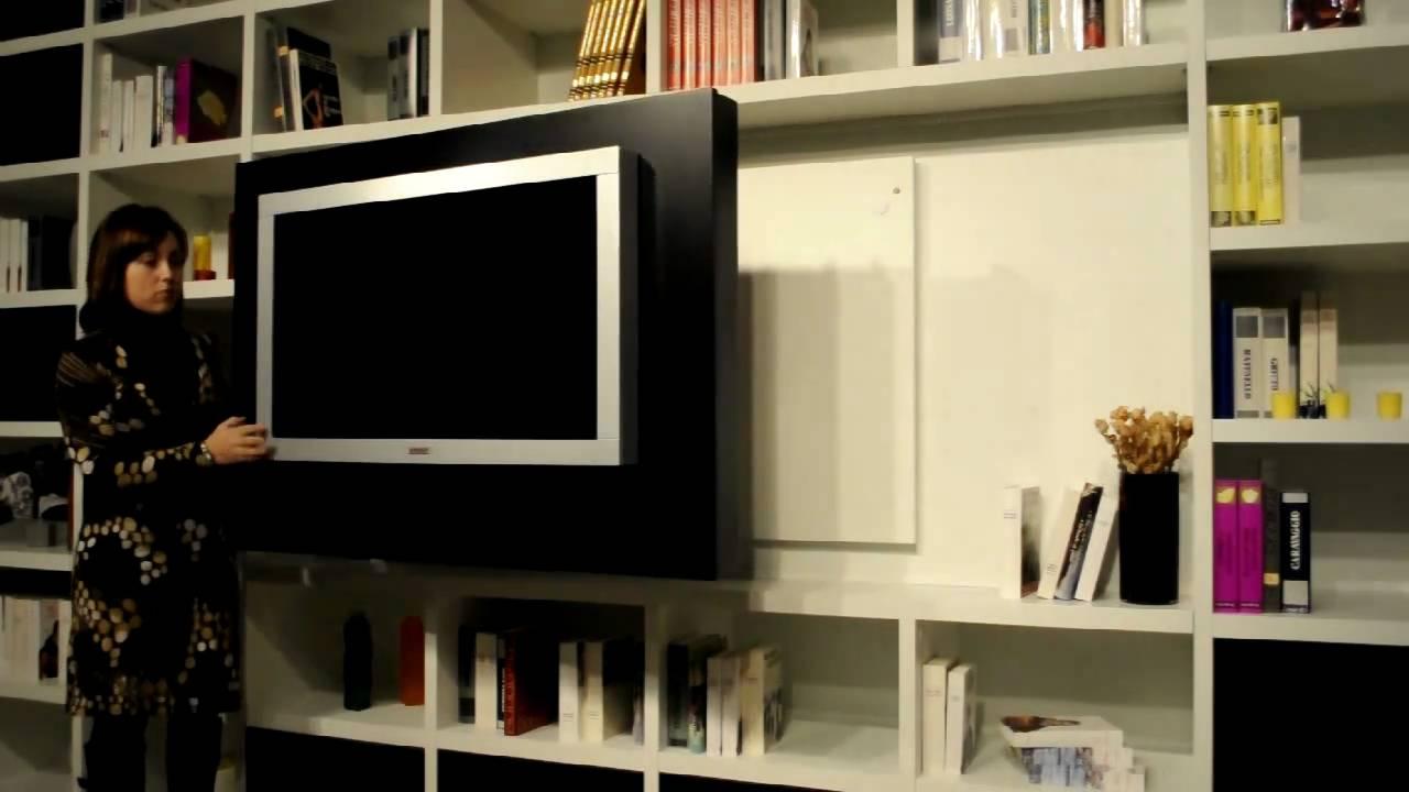 Pannello porta tv lcd orientabile girevole di astor youtube - Pannello porta tv ikea ...